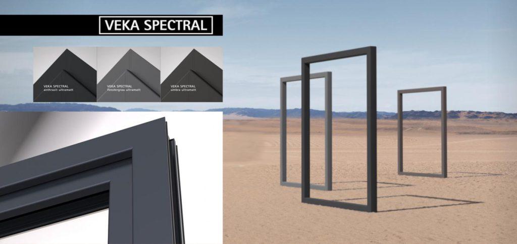Пластиковые окна VEKA SPECTRAL